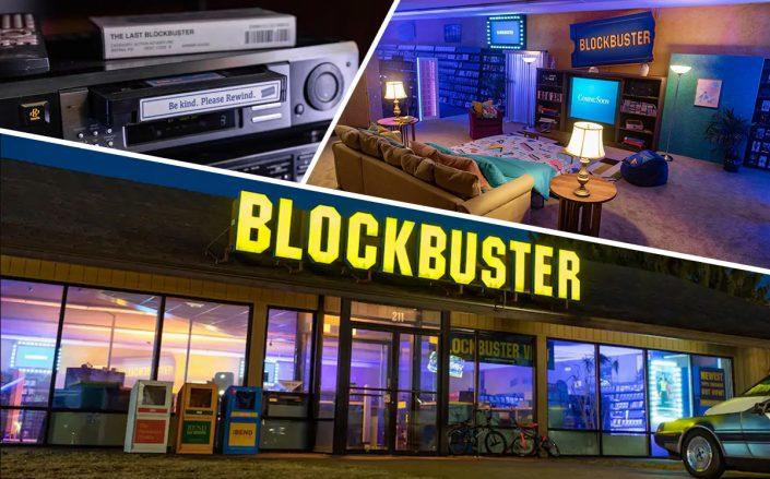 The last Blockbuster in Bend, Oregon (Airbnb)