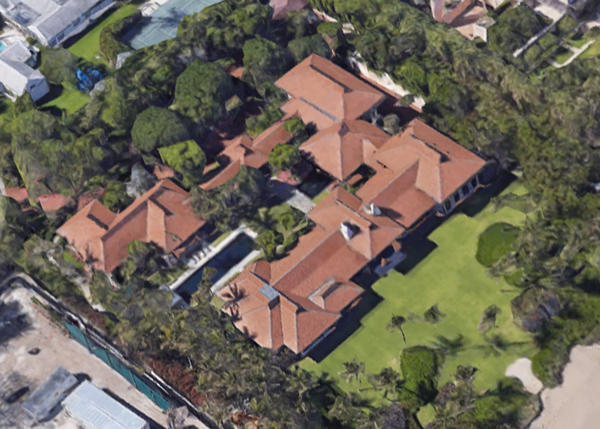 60 Blossom Way in Palm Beach (Google Maps)