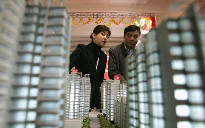 In China, residential developers have used presales to power their construction, but that may not be enough in a Covid world. (Getty)