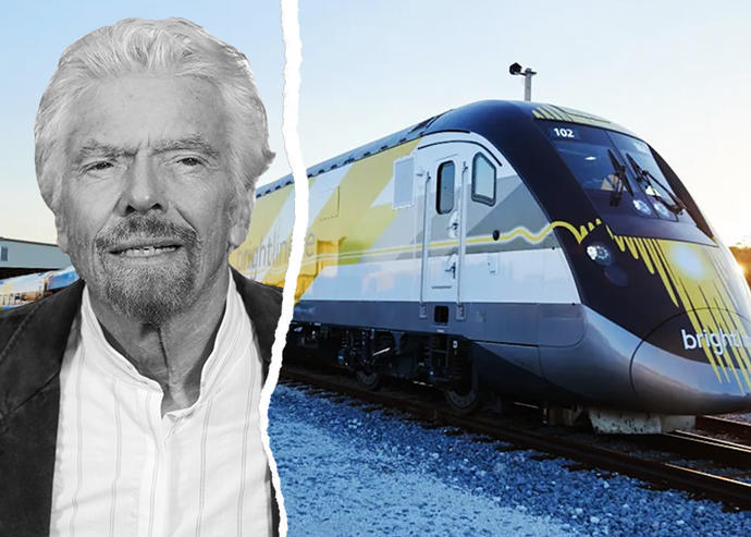 Brightline ends partnership with Virgin Trains in South...