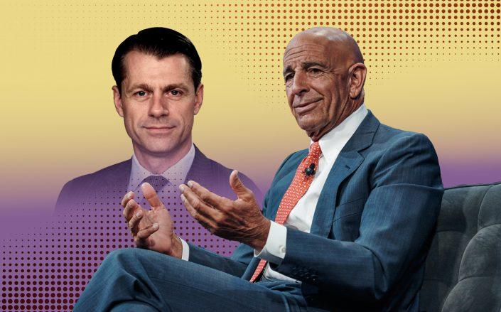 Brookfield's Brian Kingston and Colony Capital's Tom Barrack (Getty, iStock)