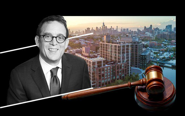 Lighstone Group CEO David Lichtenstein and 365 Bond Street in Brooklyn (Photos via Lightstone; 365bond; iStock)