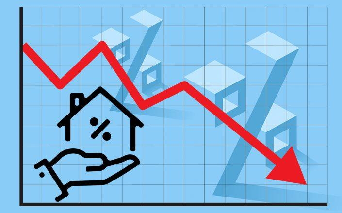The rate on the 30-year mortgage fell to 2.88 percent, the lowest rate in 50 years (iStock)
