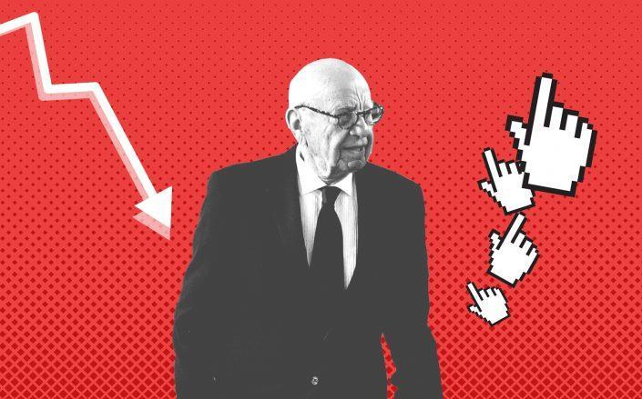 News Corp. chairman Rupert Murdoch (Murdoch by Dia Dipasupil/Getty Images; Pixabay)