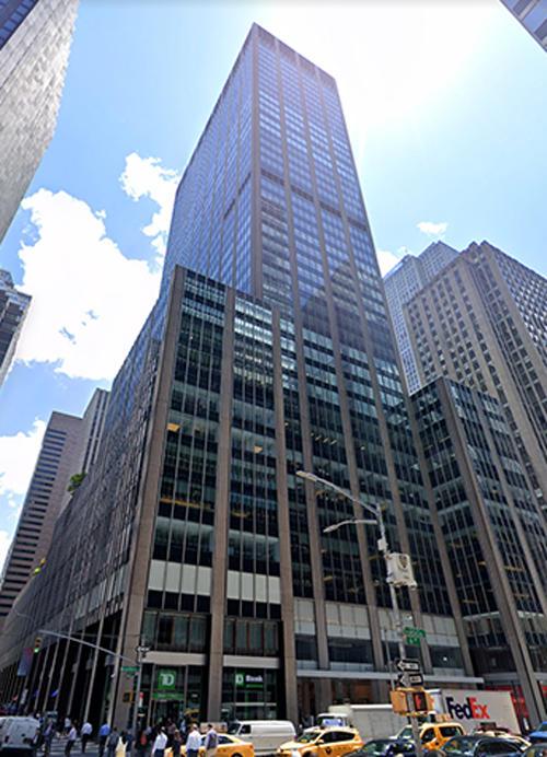 1290 Sixth Avenue in Manhattan (Google Maps)