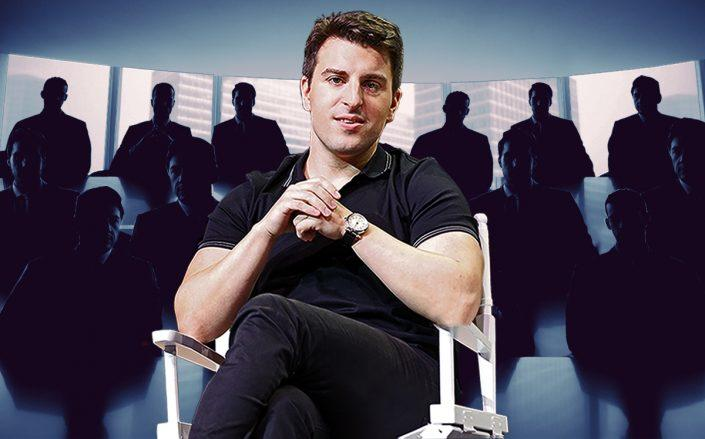 Airbnb CEO Brian Chesky (Getty, iStock)