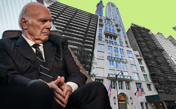 220 Central Park South and Steve Roth (Google Maps, Getty)