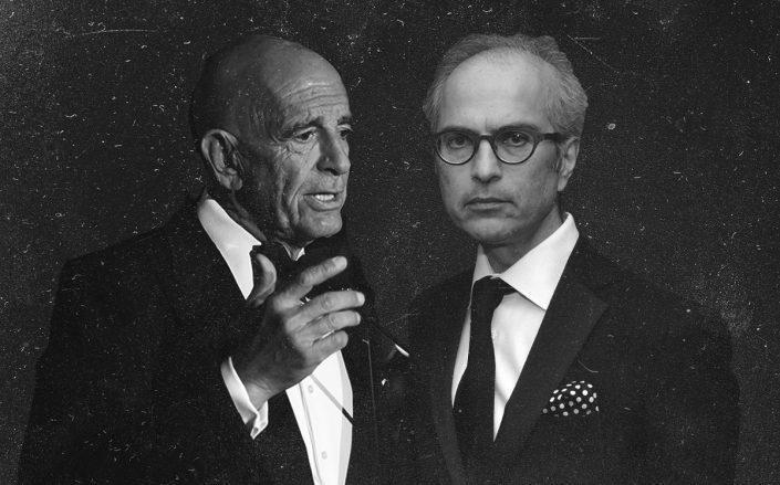 Tom Barrack and Mahmood Khimji (Getty)