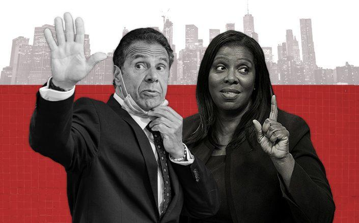 Gov. Andrew Cuomo and Attorney General Letitia James (Getty)