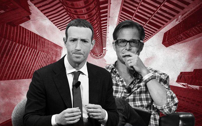 Facebook's Mark Zuckerberg and Zillow's Rich Barton (Getty)