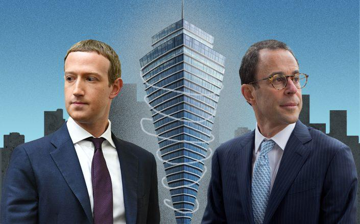 Mark Zukerberg and Jeff Blau (Getty, iStock)