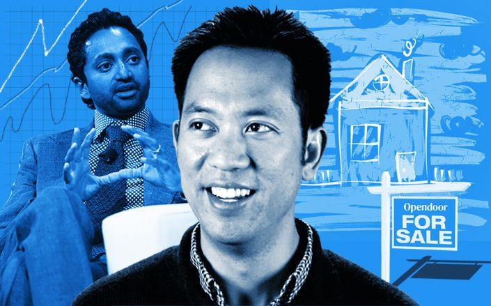 Eric Wu (left) and Chamath Palihapitiya (Getty, iStock)
