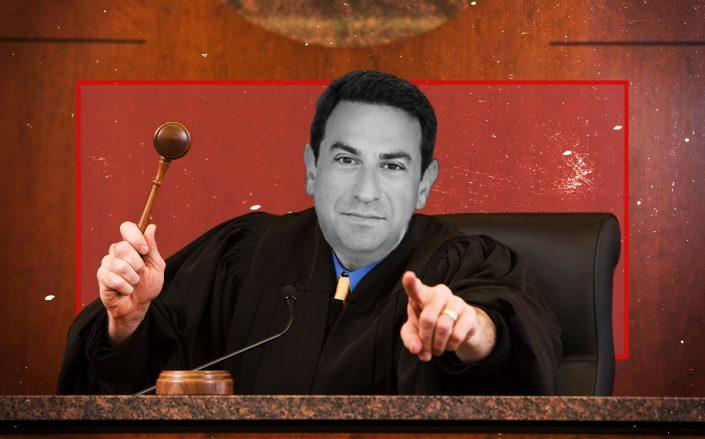 Photo illustration of Judge Eric Komitee (iStock)