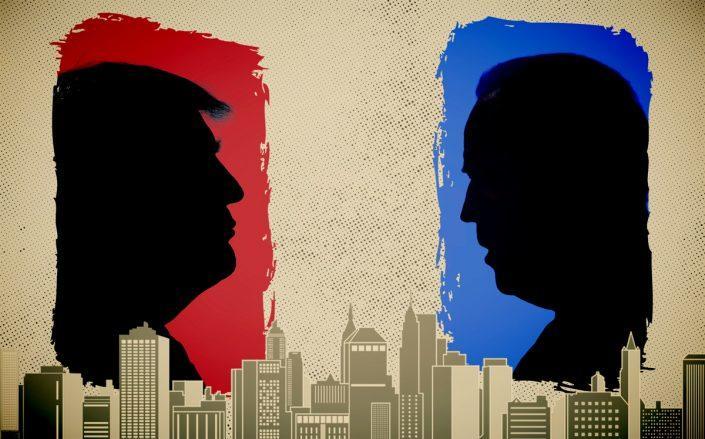 President Donald Trump and Joe Biden (Getty; iStock)