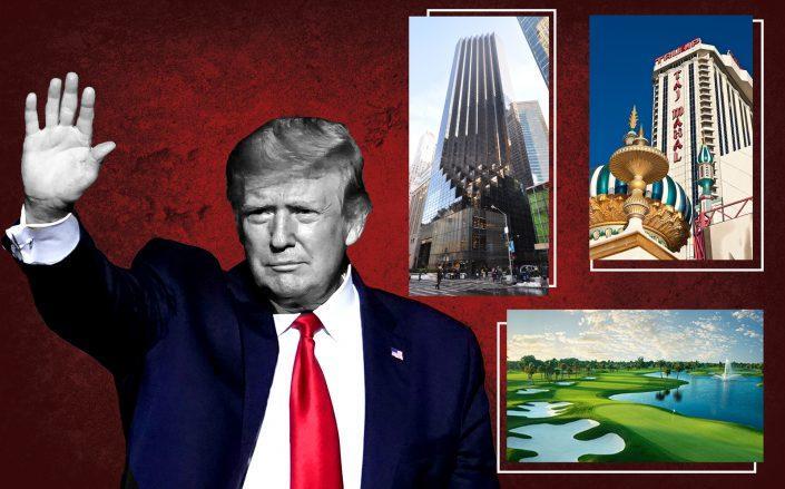 President Donald Trump (Getty; iStock; Trump Organization)