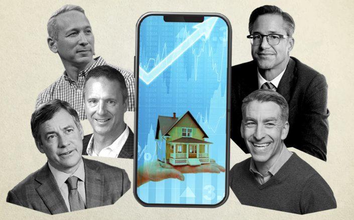 Daniel Schreiber, Glen Sanford, Andy Florance, Rich Barton, and Glenn Kelman
