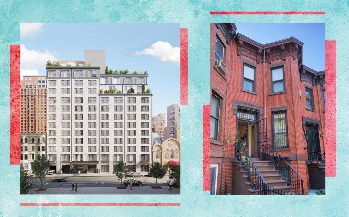 76 Schermerhorn Street and 378 5th Street in Brooklyn (Photos via The Symon and StreetEasy)