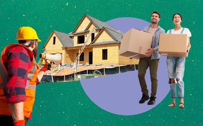 An acute demand for homes is driving building prices up (iStock, Pixabay)