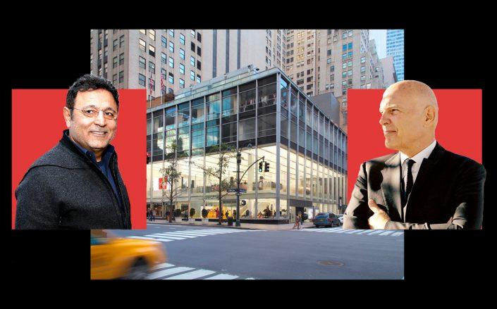 Elie Tahari, 510 Fifth Avenue and Vornado chairman Steve Roth (VNO; Getty)