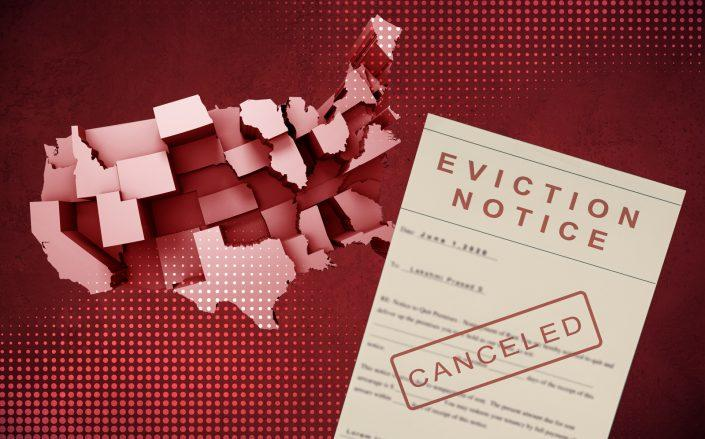 Eviction filings have fallen in several major cities after a second federal eviction moratorium came into effect early September. (iStock)