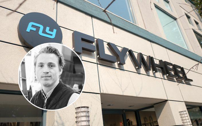 Flywheel Sports President Travis Frenzel (LinkedIn; Getty)
