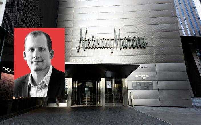 Marble Ridge Capital LP's Dan Kamensky and Neiman Marcus at Hudson Yards in New York (Getty; Jewish National Fund)