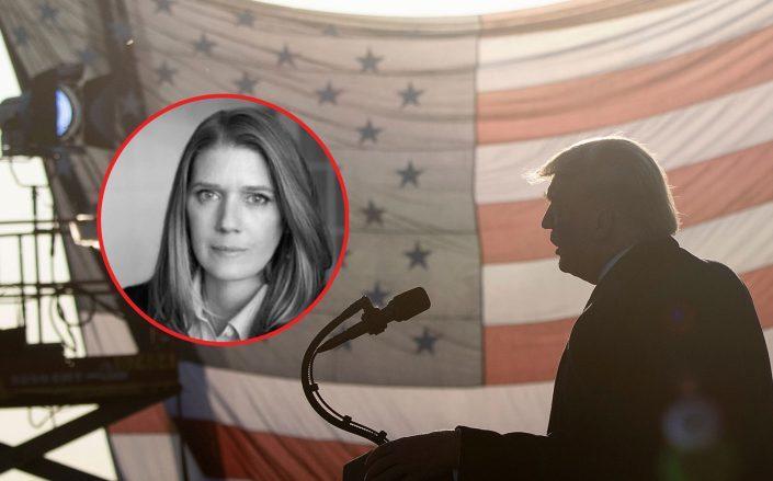 Mary Trump and President Donald Trump (Photos via LinkedIn and Getty)