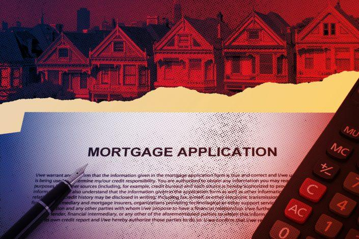An increase in mortgage applications came despite interest rates ticking up (iStock)
