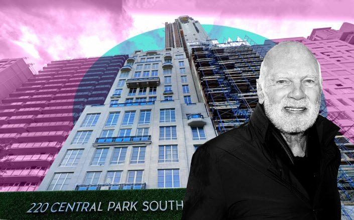 220 Central Park South and Vornado chairman Steven Roth (Credit: Google Maps and Getty Images)