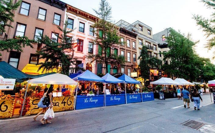 Restaurant Row on West 46th Street (Photo via Getty)