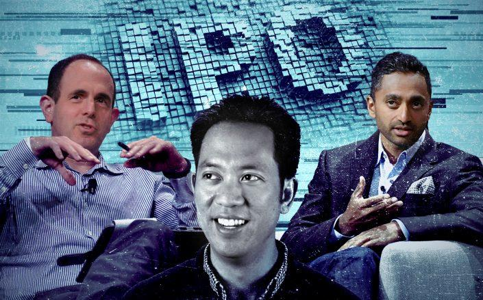Opendoor founder Keith Rabois, Opendoor CEO Eric Wu, and Social Capital CEO Chamath Palihapitiya (Getty; iStock; Resolute Ventures)