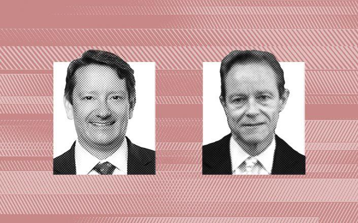 BMO Capital Markets CEO Dan Barclay and Paul Vanderslice (BMO, LinkedIn)