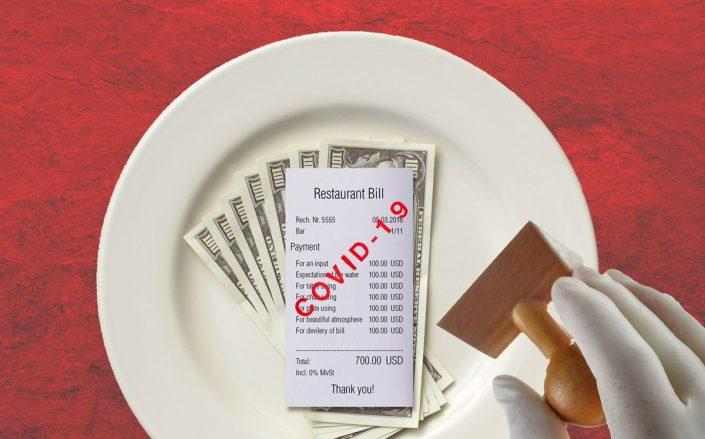 Officials will consider a measure that would temporarily allow restaurants to increase individual customer's bills by up to 10 percent. (iStock)