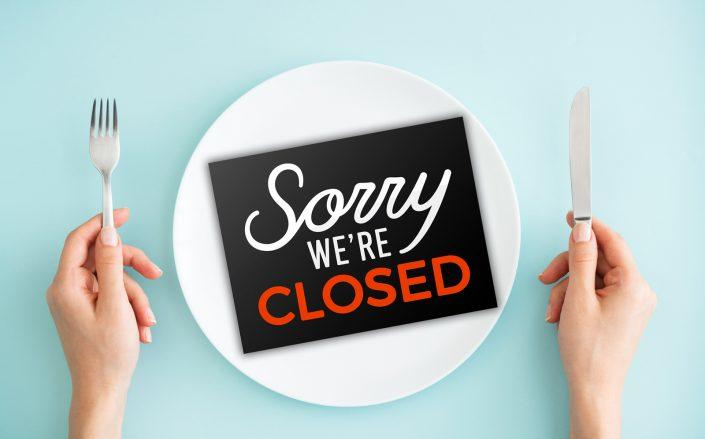 A survey finds 64% of New York restaurants expect to close by end of the year (iStock)