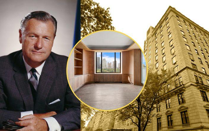 Nelson Rockefeller and 812 Fifth Avenue Photos via Getty; StreetEasy; Google Maps)