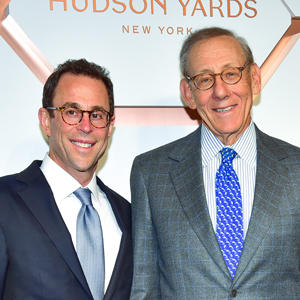 Related's Jeff Blau and Stephen Ross (Getty)