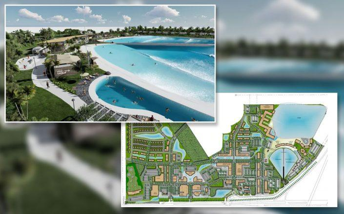 A rendering of the WaveGarden (Credit: Bohler via TCPalm)