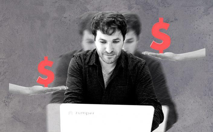 Zumper CEO Anthemos Georgiades (Getty; iStock)