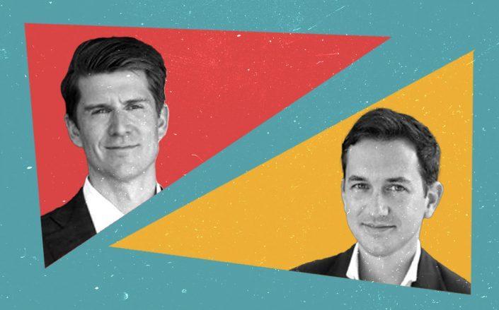 Abu Dhabi Investment Authority veterans Thomas Hennessey (left) and Joseph Beck (LinkedIn)