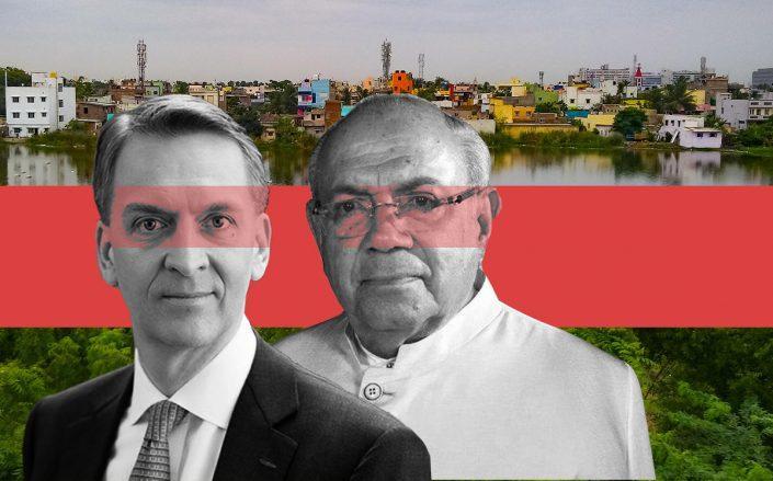 Bruce Flatt, Arjun Menda and Chennai (Brookfield, RMZ Corp, iStock)