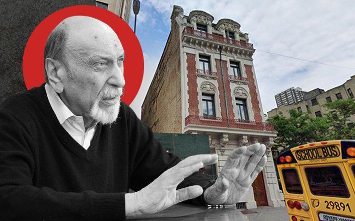 Milton Glaser and 207 East 32nd Street (Getty, Google Maps)
