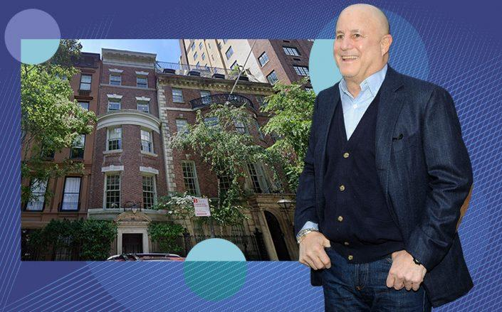 Ron Perelman and 36-38 East 63rd Street (Getty, Google Maps)