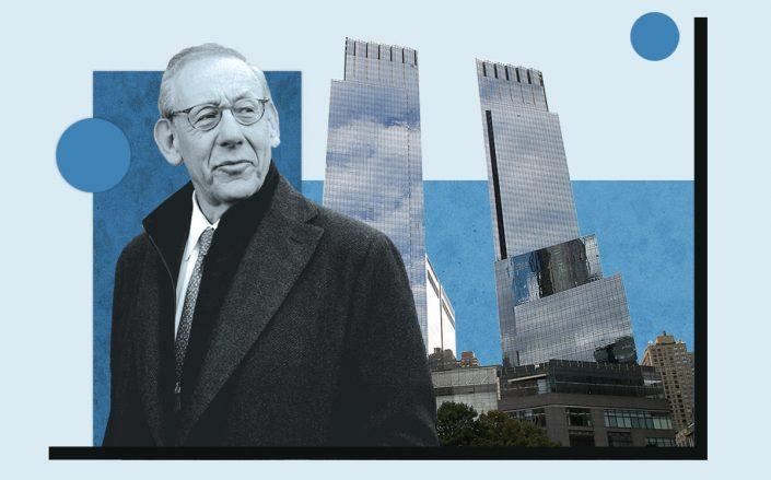 Stephen Ross and Time Warner Center (Getty)
