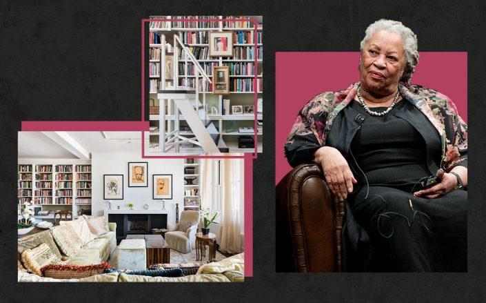 Toni Morrison and her former Tribeca home (Getty, BHS)