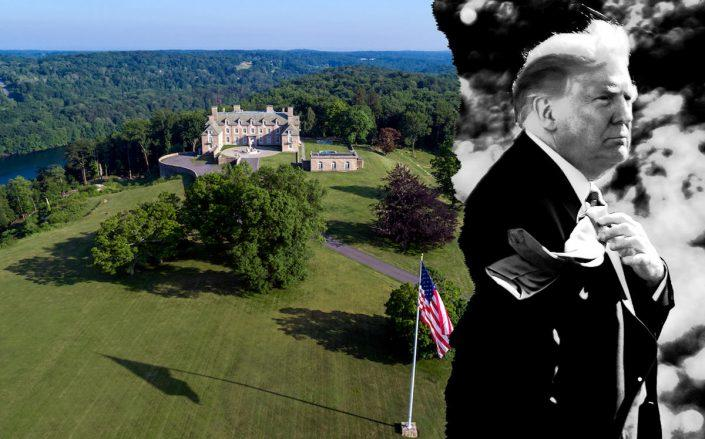 Seven Springs in Westchester and Donald Trump (Getty; Trump Org)