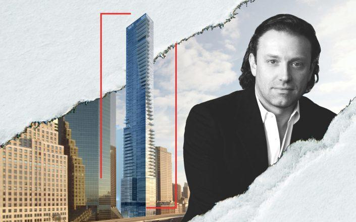 161 Maiden Lane and Fortis CEO Jonathan J. Landau (Hill West Architects; Fortis)