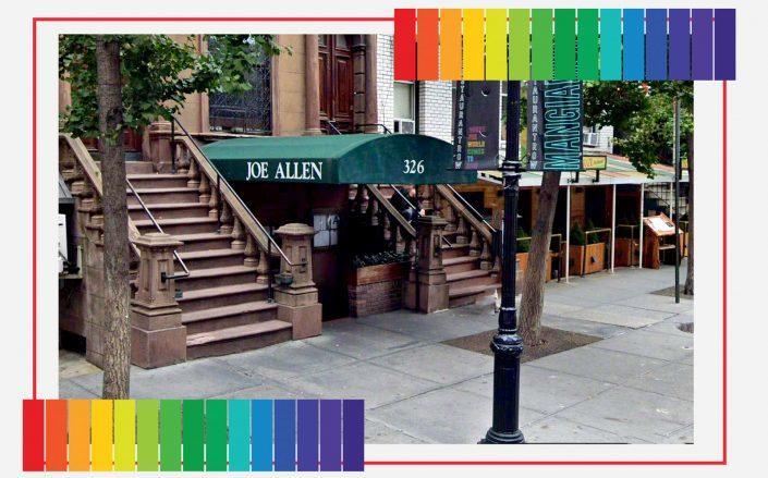 Joe Allen on 326 46th Street (Google Maps; iStock)