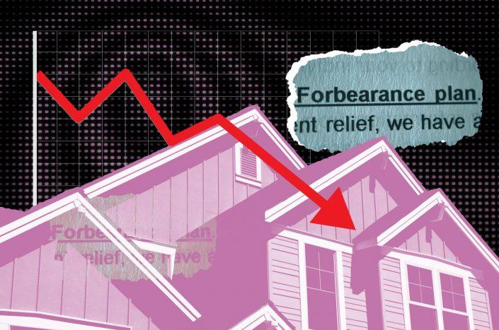 The number of mortgage borrowers in Covid-19 forbearance plans ticked down again this week. (iStock)