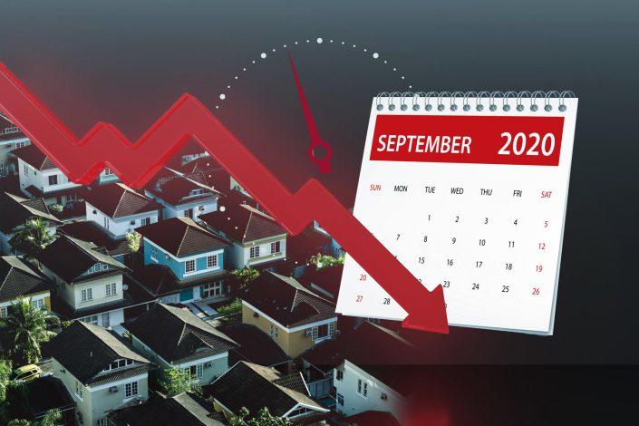 The decline in contract activity may signal a drop in sales in the coming months (iStock)