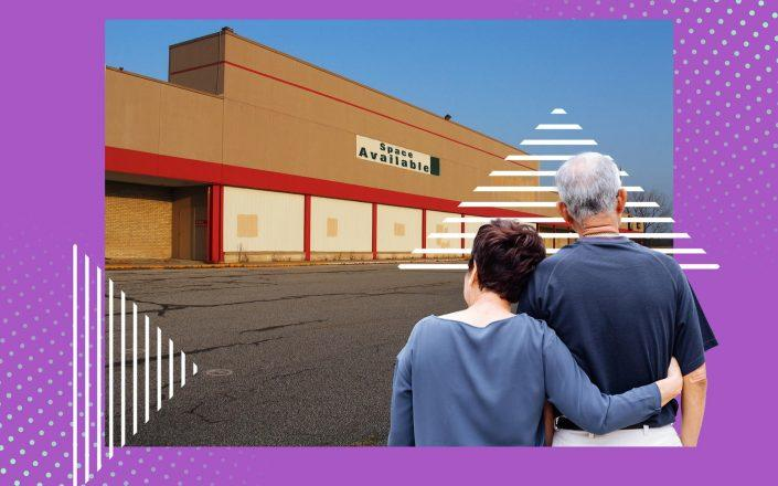 Abandoned malls are being turned into senior housing, giving planners a chance to rethink retirement communities (iStock)